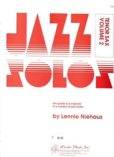 JazzSolosVol.2para saxofones tenor.Lennie Niehaus