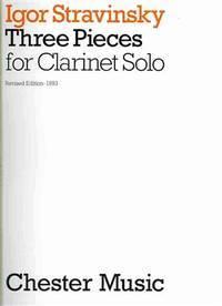 ThreePieces(1919)para clarinete solo.IgorStravinsky