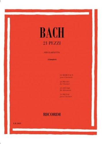 21Pezzi. JohannSebastian Bach