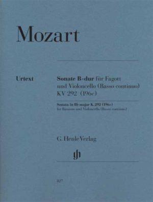 SonateinB-DurKV292(196c)WolfgangAmadeusMozart