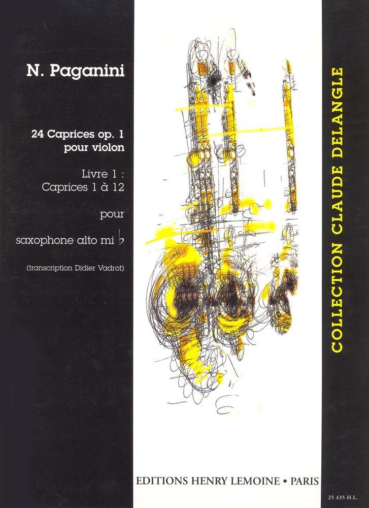 24Capricesop.1Volume1:CapricesNo.1-12. NiccoloPaganini
