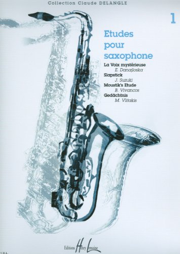 EtudespourSaxophoneVolume1 (2003). ClaudeDelangle