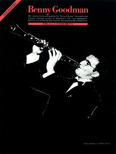 JazzMasters 30solo para clarinete en Sib. BennyGoodman