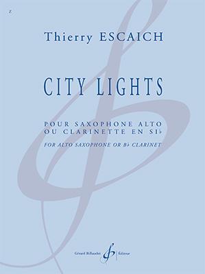 CityLights(2018)para clarinete o saxofón alto solo. Thierry Escaich