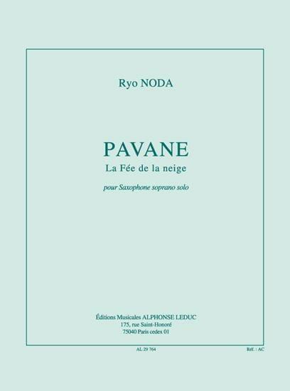 Pavane(2000)para saxofón soprano solo. Ryo Noda