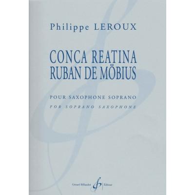 ConcareatinarubandeMöbius(2017)para saxofón soprano.Philippe Leroux