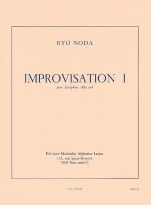 Improvisación I(1972/73)para saxofón alto. Ryo Noda