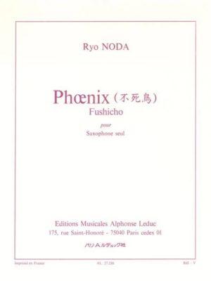 Phoenix-Fushicho(1983) para saxofón solo. Ryo Noda