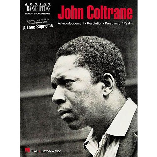 ALoveSupremepara saxofón tenor solo.John Coltrane