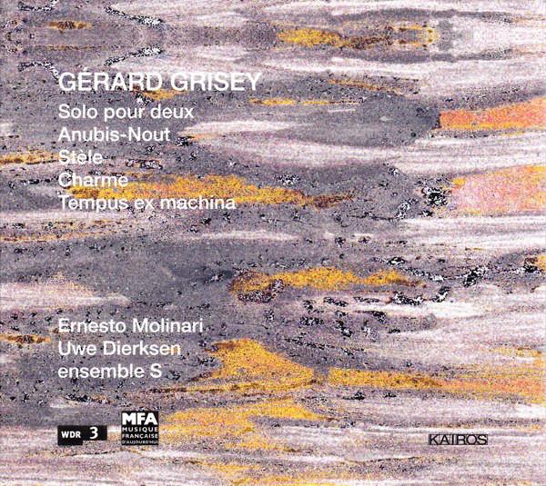 Charme(1969) para clarinete en Bb o A solo. Gerard Grisey