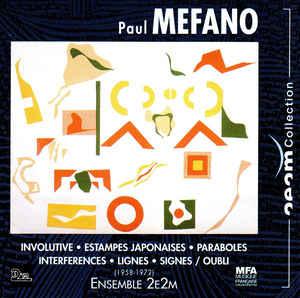 Involutive(1958)para clarinete Mib.Paul Mefano