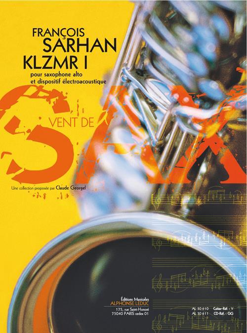 KLZMRI(2009)para saxofón alto. Francois Sarhan