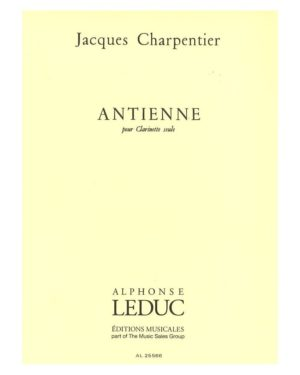 Antienne (1978). Jacques Charpentier