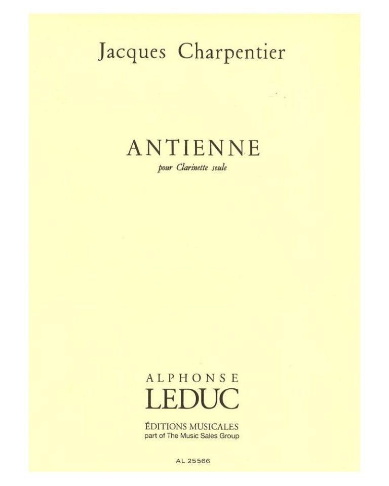 Antienne(1978). Jacques Charpentier