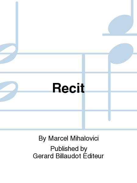 Recit.Marcel Mihalovici