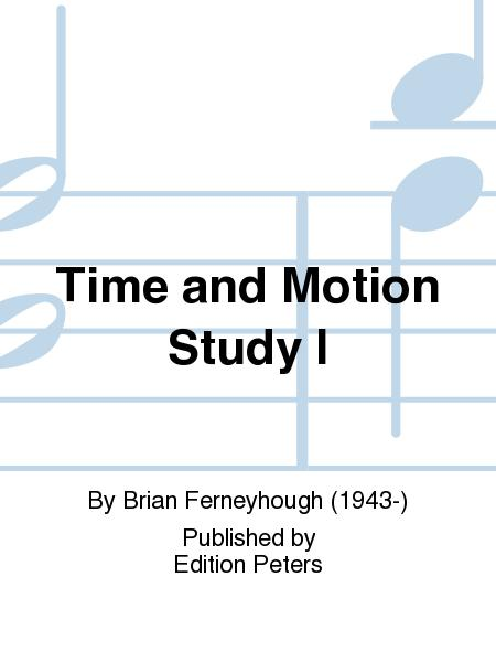 Time and Motion Study I (1971/1977) para clarinete bajo solo. Brian Ferneyhough