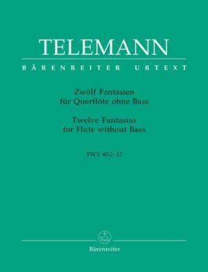 ZwölfFantasien para saxofón soprano o alto. GeorgPhilippTelemann