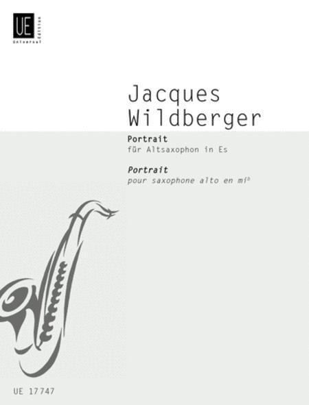 Portrait(1982)para saxofón alto. Jacques Wildberger