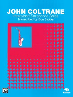ImprovisedSaxophoneSolos. JohnColtrane
