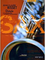 Distyle(2002)para saxofón alto. Jean-Claude Risset