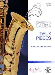 DeuxPieces(2013)para saxofón alto. Christian Lauba