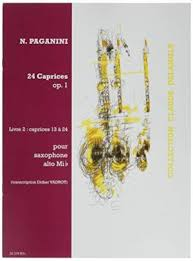 24 Caprices op.1 Volume 2: Caprices No.13-24. Niccolo Paganini