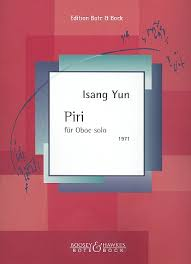 PirifürOboeSolo(1971)Isang Yun