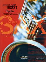 Diptere(2002)para saxofón alto. Jean-Claude Risset