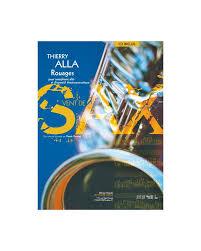 Rouages(2011)para saxofón alto. Thierry Alla