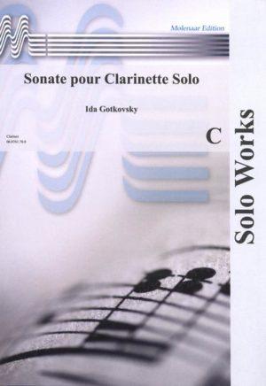 Sonatepara clarinete solo. Ida Gotkovsky