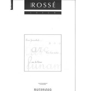 Lueur(2002)para clarinete solo.Francois Rosse