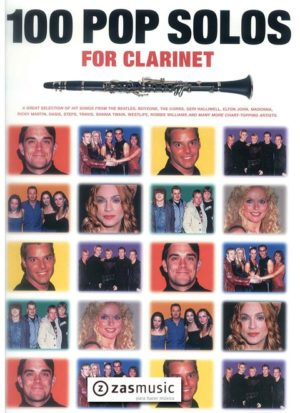 100 Pop Solos para clarinete. A great selection of hit songs from the Be. Solos Pop