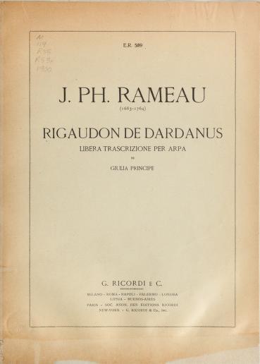 RigaudondeDardanus. Jean-Philippe Rameau