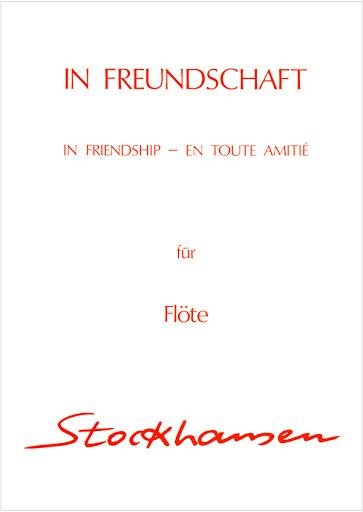 InFreundschaft(1982). Karlheinz Stockhausen
