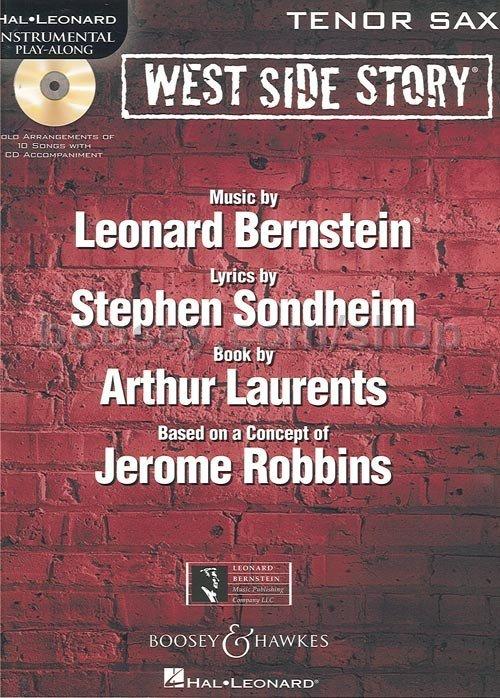 WestSideStorypara saxofones tenor. LeonardBernstein