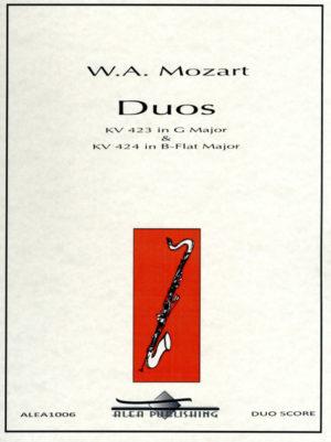 DuosKV423inD-DurundKV424inB-Dur.WolfgangAmadeusMozart