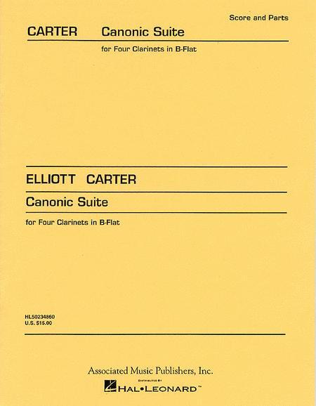 CanonicSuite.Elliott Carter