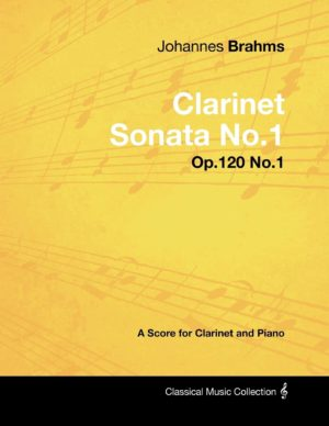 Sonateop.120No.1 JohannesBrahms