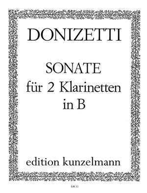 Sonatepara dos clarinetes.GiuseppeDonizetti