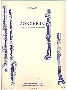 Concerto. Eugene Bozza