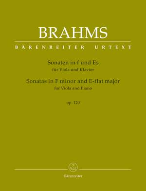 Sonate in f-moll op.120 No.1   Johannes Brahms