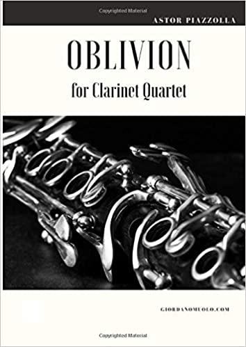 Oblivion para clarinete.AstorPiazzolla