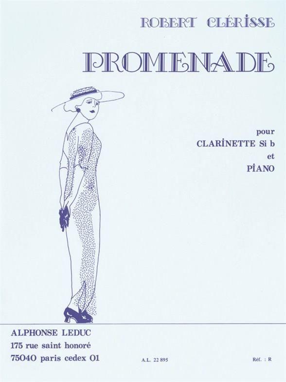 Promenade(1940)para clarinete y piano.Robert Clerisse