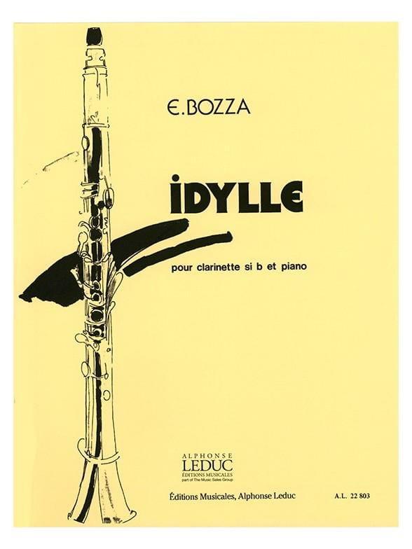 Idyllepara clarinete y piano. Eugene Bozza