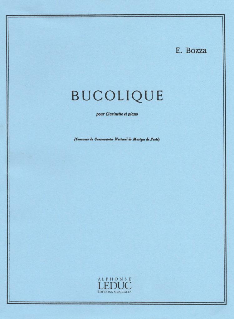 Bucolique(1949)para clarinete y piano. Eugene Bozza