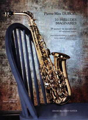 10PreludesImaginaires(1994) para saxofón. PierreMax Dubois