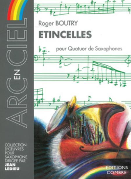 Etincelles(2000)para saxofón.Roger Boutry
