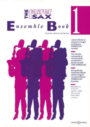 TheFairerSaxEnsembleBook1para cuarteto de saxofones.Karen Street/Anne-Louise Lane