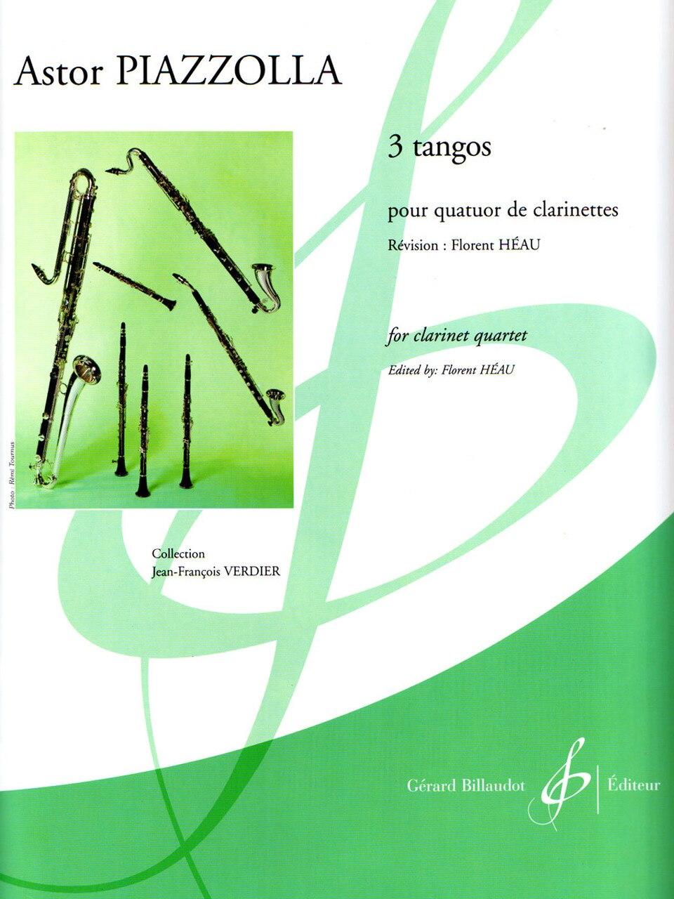 DreiTangospara clarinete. AstorPiazzolla