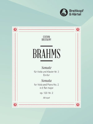 Sonate in Es-Dur op.120 No.2. Johannes Brahms